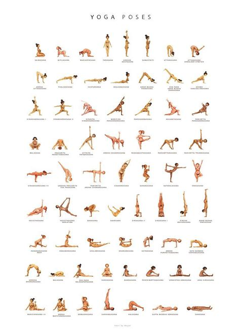 printable yoga poses and names 1000 ideas about yoga poses names on pinterest