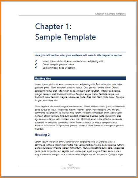 template for handbook 3 manual template word teknoswitch