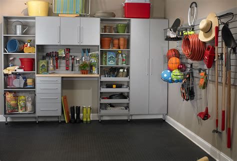 Garage Organizer Systems by Hollans Models Storage Shed Organization System Diy