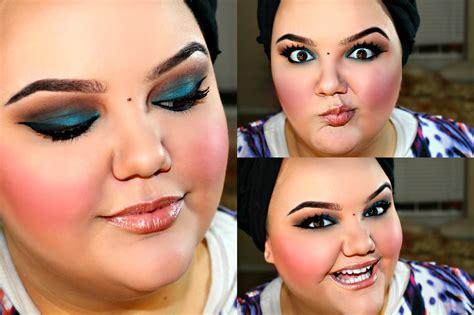 makeover for overweight date night smokey big girl makeup lifeaslauren youtube