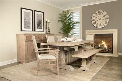 muebles de madera modernos mesas de comedor modernas de madera maciza 50 ideas