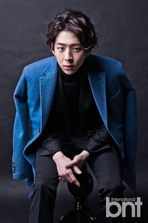 Fathin Coat Park Yoo Hwan Releases Charismatic Fashion Pictorial