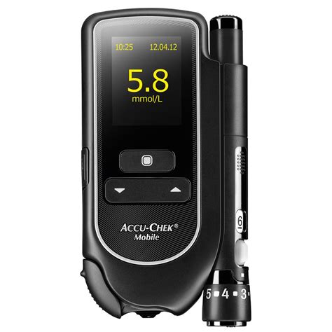 accu check mobile accu chek mobile blood glucose meter available to buy