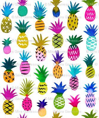 Rr 995939 St Pineapple pineapple fabric mirabelleprint spoonflower