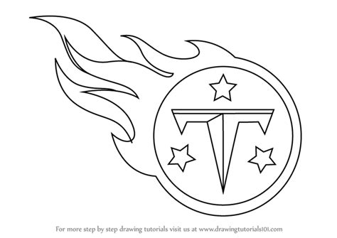 nfl titans coloring pages learn how to draw tennessee titans logo nfl step by step