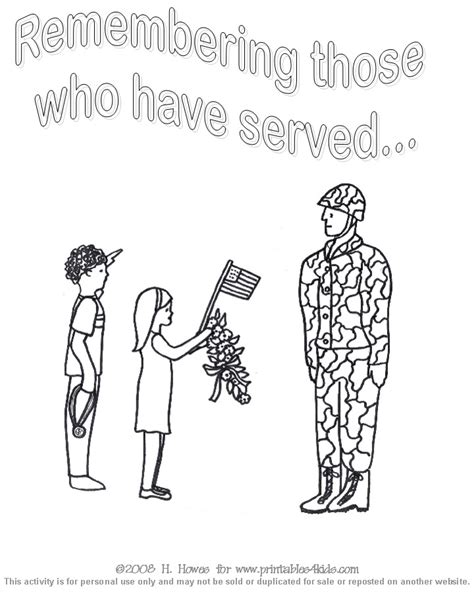 printable coloring pages veterans day veteran s day coloring sheets 171 free coloring pages