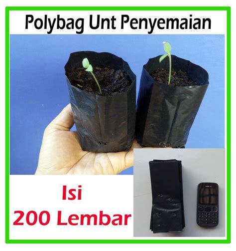 Jual Bibit Cabe Polybag jual polybag ukuran kecil unt semai benih ipb mart