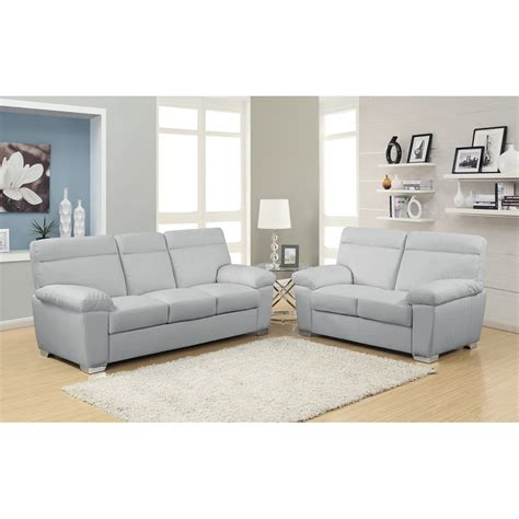 Light Grey Leather Sofa Hanari Modern Sofa Light Grey Light Grey Leather Sofa