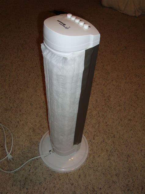 homemade air purifier cat litter box air filter  steps