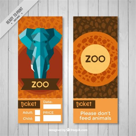 printable zoo banner geometric elephant and abstract zoo banners vector free