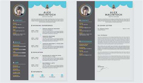 Free And Beautifully Designed Resume Templates Designmodo Creative Cv Templates