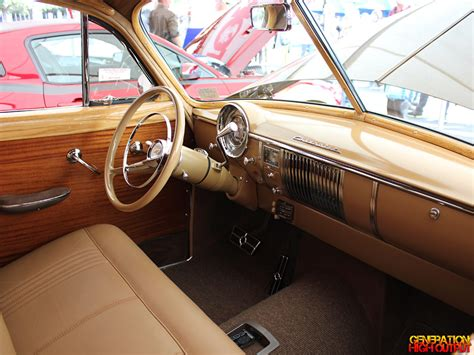 1949 Chevy Interior by Sema 2013 1949 Chevrolet Tin Woody Genho