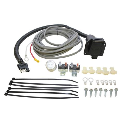 7 way trailer wiring harness kit pin trailer wiring