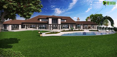dream home design usa a georges design of dream house back view usa by