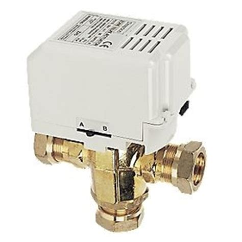 drayton 22mm 3 port motorised diverter valve 5 wire spst