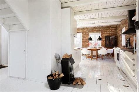 awesome Scandinavian Style Interior Design #5: scandinavian-interior-floor-ceiling-white-painted1.jpg