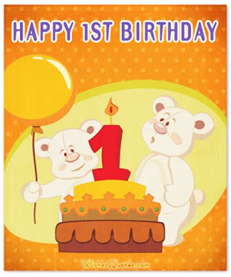 Happy Birthday Wishes For Baby Wishes Quotes Blog Top 20 Images 1st Birthday Wishes