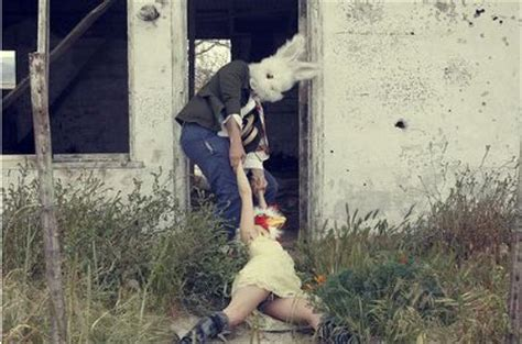 all things weird: the bunny man