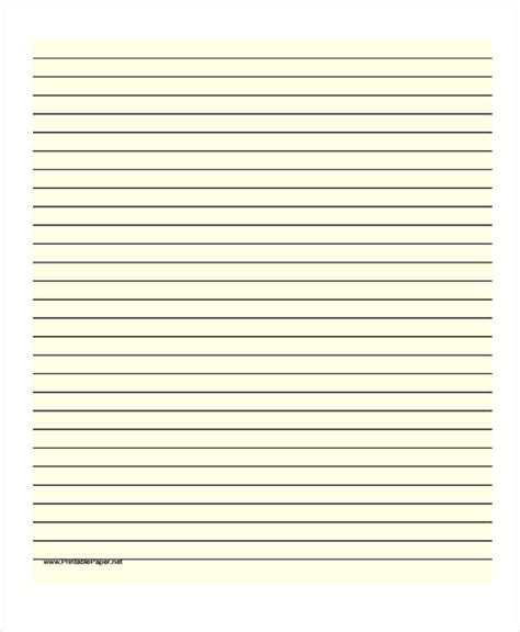 printable paper net category lined 22 lined paper templates free premium templates