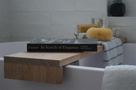 Bathroom Ledge Shelf Diy Bathtub Shelf How To Make A Bath Tray