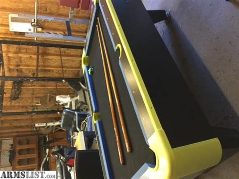 Armslist For Sale Trade All American Neon Lights Pool Table All American Lights