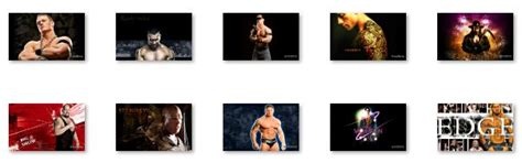 wwe themes on keyboard download free wwe windows 7 theme by windows 7 theme v 1