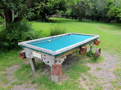outdoor pool table nz outdoor pool table stony bay picture of
