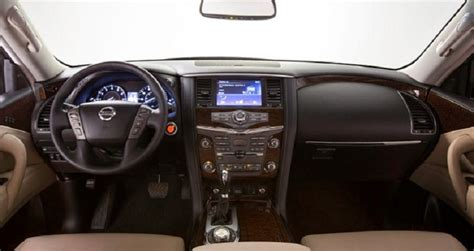 nissan armada 2018 interior 2018 nissan armada diesel specs price redesign