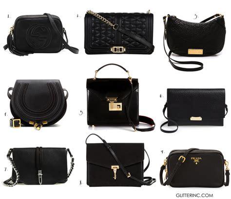 Fadhion Crosbody fashion classic crossbody black bag glitter inc