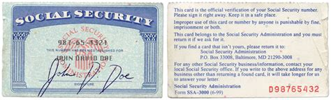 back of social security card template kidney health care 101 interactive exle