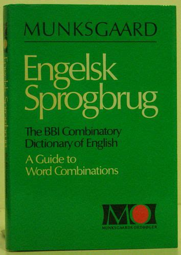 the bbi combinatory dictionary fremmede sprog foreign languages mand 248 es antikvariat