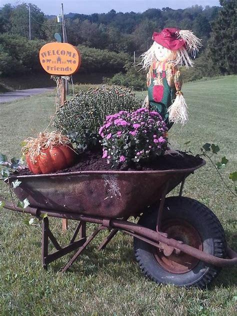 Wheelbarrow Garden Ideas 25 Unique Wheelbarrow Decor Ideas On Pinterest Decorating Front Porches Patio Radio Ideas