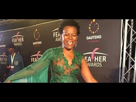 zodwa wabantu makes the feather awards unforgettable youtube