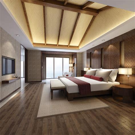 modern hotel bedroom modern hotel bed room 3d model max cgtrader com