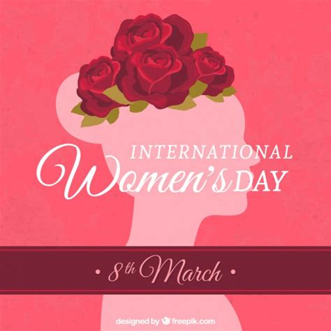 international s day card vector free