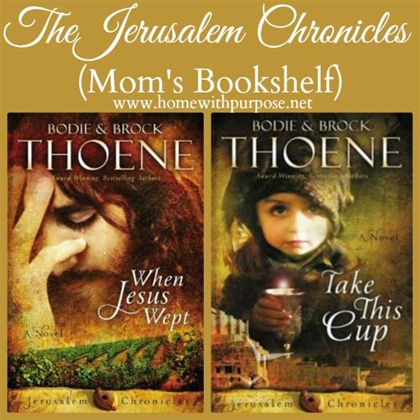 jerusalem chronicles from the the jerusalem chronicles mom s bookshelf home with purpose