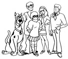 scooby doo coloring page 7 scooby doo coloring pages