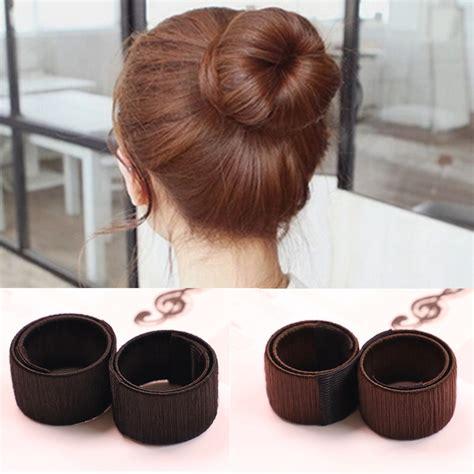 1pc plate hair donut bun 1pc hair accessories s magic hair disk hair device