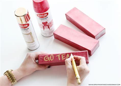 spray painting set diy jenga set spray paint chardonnay