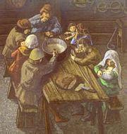 cuisiner des g駸iers frais cuisine au moyen 194 ge wikimini l encyclop 233 die pour enfants
