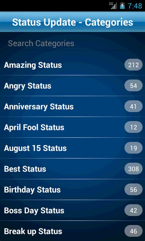 fb english status 50000 status quotes collection app ranking and store data