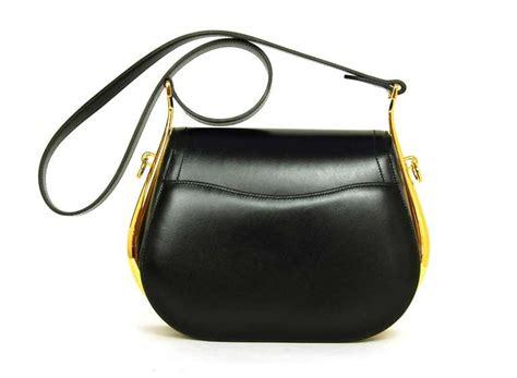 hermes saddle bag hermes black noir box leather sac passe guide saddle bag