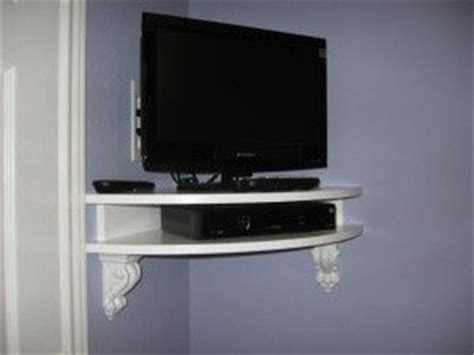 1000 ideas about corner tv shelves on tv