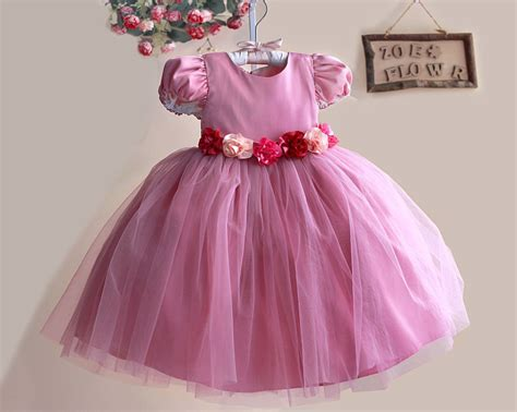 Flower Dress By Twinies Store aliexpress buy autumn new princess flower dress