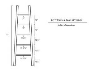Wooden Bathroom Towel Rack Shelf Sarah Sherman Samuel Bathroom Refresh Amp Diy Towel Ladder