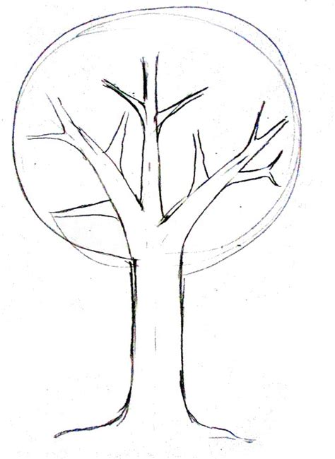 simple drawing tree how to draw a tree