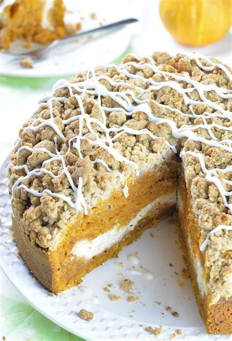 my coffee cake pumpkin coffee cake chocolate dessert recipes omg
