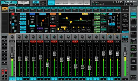 Mixer Audio 1 Jutaan emotion lv1 live mixer software 64 stereo channels waves