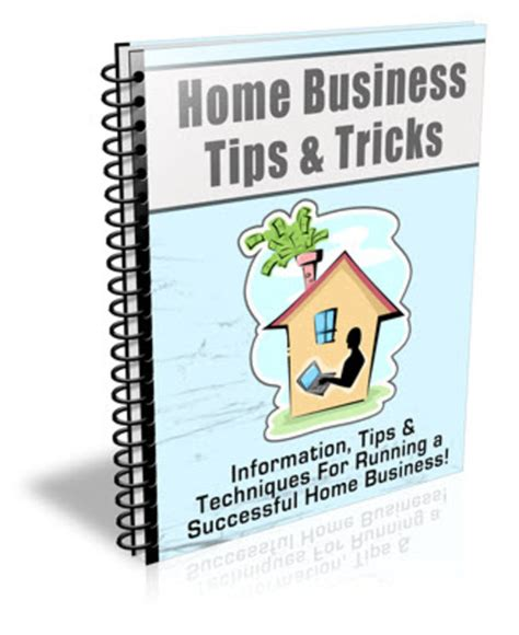 home business tips tricks plr newsletter series