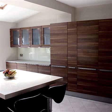 medium brown kitchen cabinets slab kitchen cabinet door in wooden medium brown akc